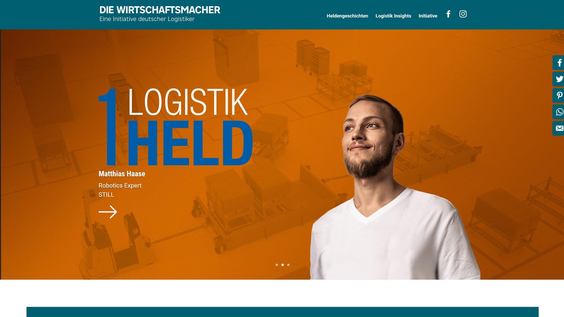 Teaser Case HR Kampagne Bundesverband Logistik