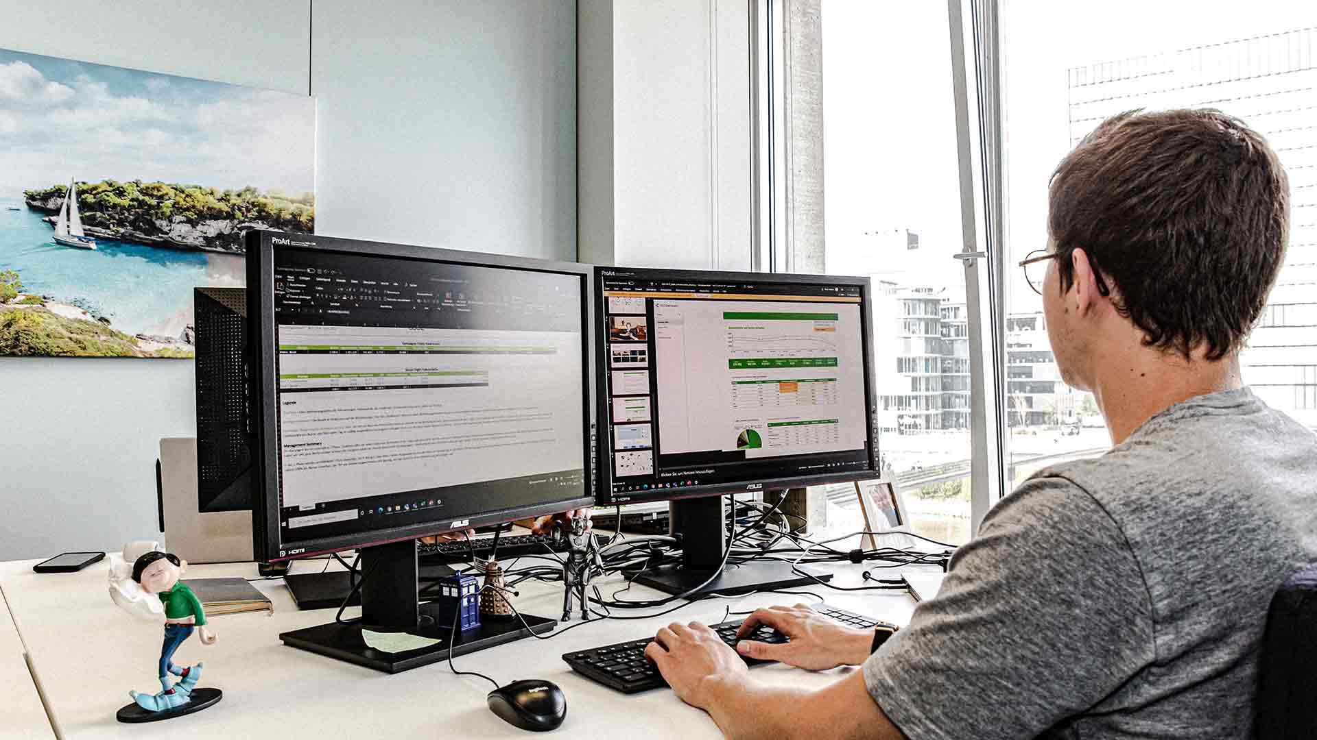 Leistungen Digitale Mediaplanung